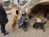 Verena und die Hunde-ein Bild!
