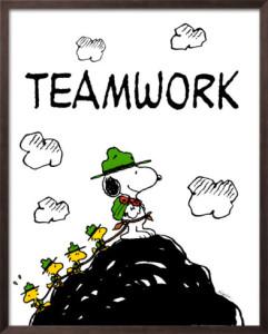 charles-schulz-peanuts-teamwork